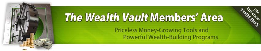 the wealth vault brad weinman passive income newsletter